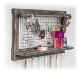 SoCal Buttercup Jewelry Organizer with Bracelet Holder Rod