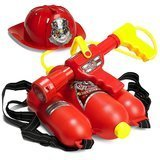 Prextex Fireman Backpack Water Gun Blaster