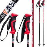 Zipline Lollipop Graphite Carbon Composite  Ski Poles