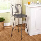 Skyler Adjustable Swivel Barstool