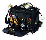 CLC Work Gear Custom Leathercraft Multi-Compartment 50 Pocket Tool Bag