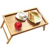 Artmeer Bed Tray Table with Folding Legs