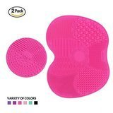 ESARORA Makeup Brush Cleaner Pad, Set of 2