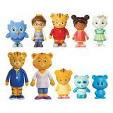 Daniel Tiger's Neighborhood Friends & Family Figure Set (10 pack)