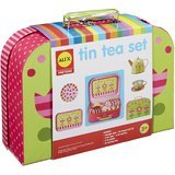 ALEX Toys Pretend Tin Tea Set