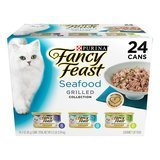 Purina Fancy Feast Seafood Grilled Collection (24 3 oz. cans)
