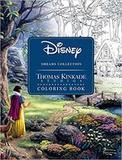 Andrews McMeel Publishing Disney Dreams Collection Thomas Kinkade Studios Disney Princess Coloring Book