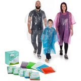 Clear Harbour Rain Poncho Family Pack (10 pack)