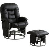 Coaster Home Furnishings Glider and Ottoman Set