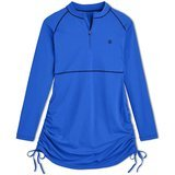 Coolibar UPF 50+ Women's Island Ruche Swim Shirt