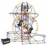 K'NEX Thrill Rides – Bionic Blast Roller Coaster Building Set