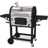 Dyna-Glo Large Heavy Duty Stainless Steel Charcoal Grill
