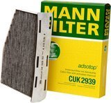 Mann CUK 2939 Cabin Filter With Activated Charcoal