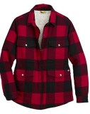 Dickies Flannel Sherpa-Lined Chore Coat