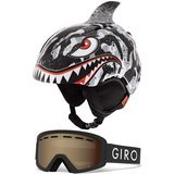 Giro Launch Combo Pack Snow Helmet and Goggles for Kids