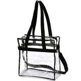 Handy Laundry Clear Tote Bag NFL Stadium-Approved