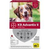K9 Advantix II Prevention for Large Dogs 21-55 lbs.