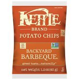 Kettle Brand Backyard Barbeque Potato Chips, Single-Serve