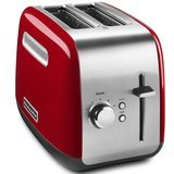 KitchenAid 2-Slice Red and Silver Toaster