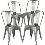 Poly and Bark Trattoria Side Chair, Set of 4