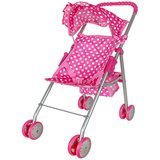 Precious Toys Foldable Doll Stroller With Hood