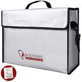 ROLOWAY Fireproof Document Safe Bag