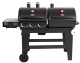 Char-Griller Dual 3 Burner Charcoal & Gas Grill