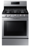 Samsung 5.8 Cu. Ft. Freestanding Gas Convection Range with Self-High Heat Cleaning