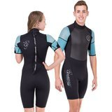 Seavenger Navigator 3mm Shorty Wetsuit with Stretch Panels for Men and Women