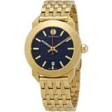 Tory Burch Whitney Blue Dial Gold-Tone Ladies Watch