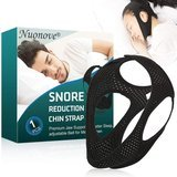 TOULLGO Breathable Anti-Snoring Chin Strap