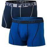 Tesla Relaxed Stretch Open-Fly, Dry Brief Mesh Underwear