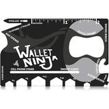 Wallet Ninja 18-in-1 Multi-Purpose Credit Card Size Pocket Tool