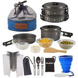 Wealers Camping Cookware Mess Kit